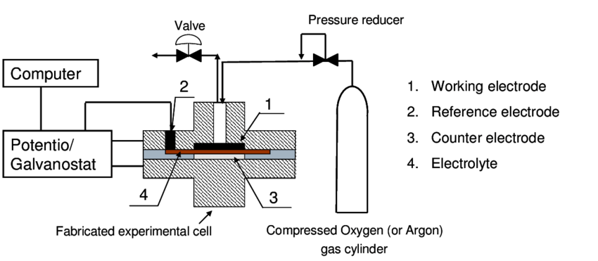 Schematic diagram of experimental apparatus in the Fuel