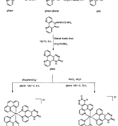 scheme leading to synthesis of the two new ruthenium ii complexes investigated during this [ 850 x 1077 Pixel ]