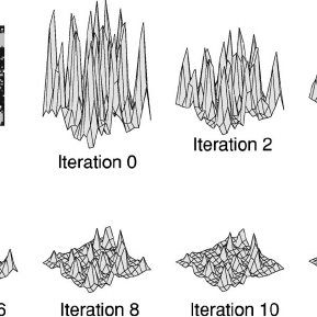 General architecture of the visual attention system