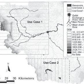 2 !! Simplified geological and permeability class maps of