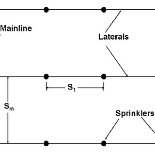 1. Typical shape of sprinkler pattern for an individual