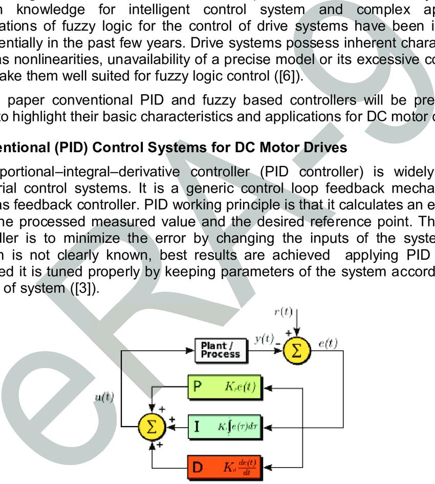medium resolution of a block diagram of a pid controller in a feedback loop 7