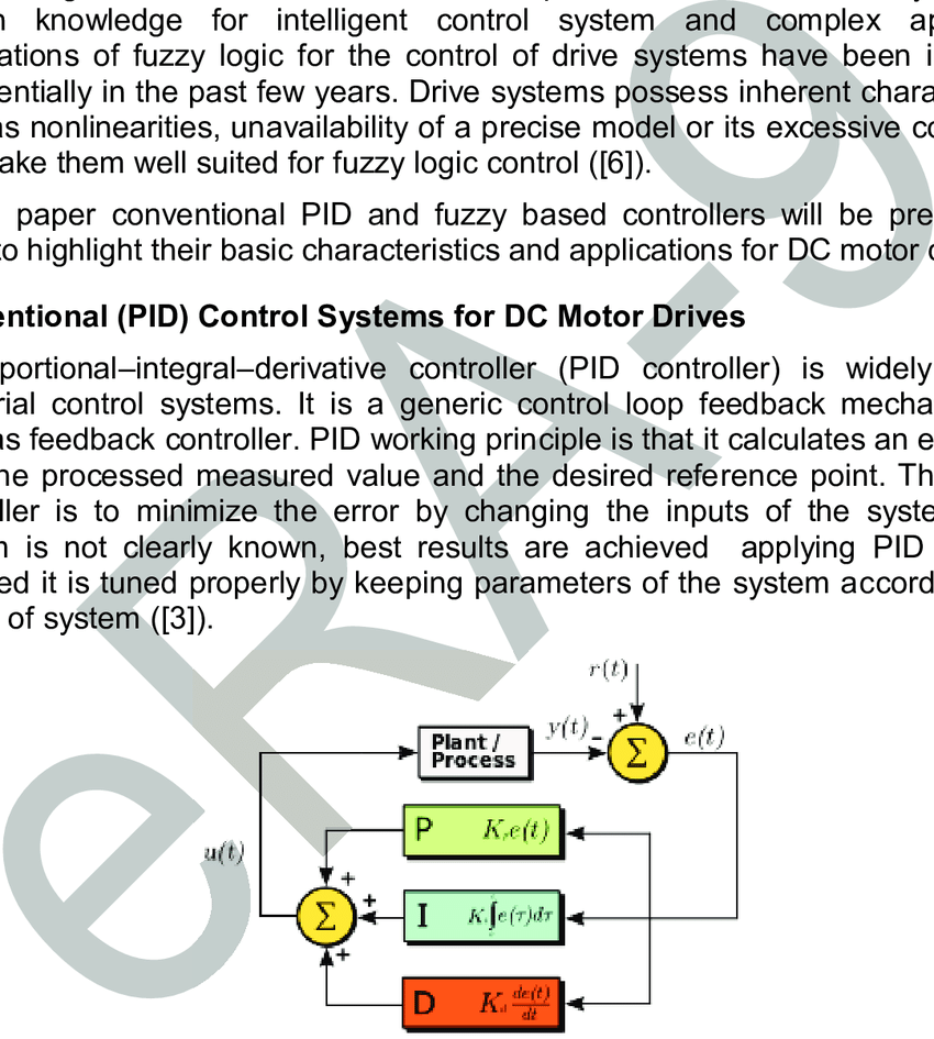 hight resolution of a block diagram of a pid controller in a feedback loop 7
