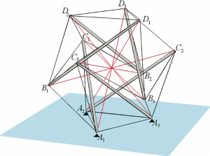 A spherical tensegrity structure with intermediate filaments used to | Download Scientific