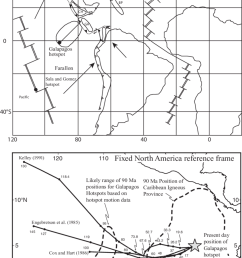 contrasting interpretations for the positions of the gal pagos hotspot during the late cretaceous and its relationship [ 850 x 1142 Pixel ]