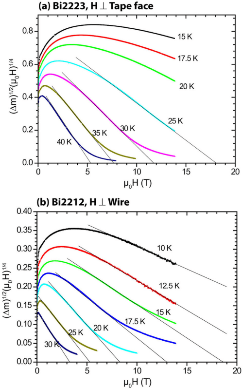 small resolution of kramer function plots of the bi2212 round wire and bi2223 flat tape download scientific diagram