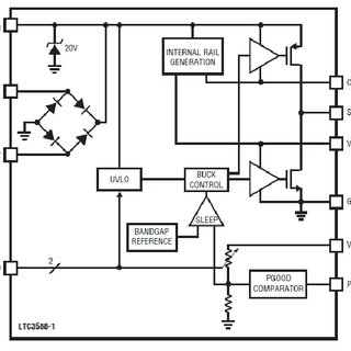 Application of LTC 3588-1 chip as 100mA energy harvesting