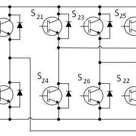 Sub-system of 3 Phase-4 Leg IGBT Converter III. DESIGN OF