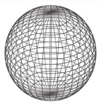 wireframe sphere from applet