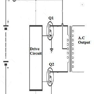 microcontroller based inverter circuit diagram sankey for solar power pdf development of a 6 12 18 24v push pull