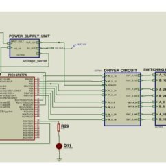 Microcontroller Based Inverter Circuit Diagram Water Tank Level Controller Pdf Development Of A 6 12 18 24v Power The Overall Schematic System