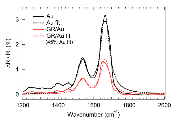 Mid-Infrared Plasmonic Biosensing With Graphene (PDF