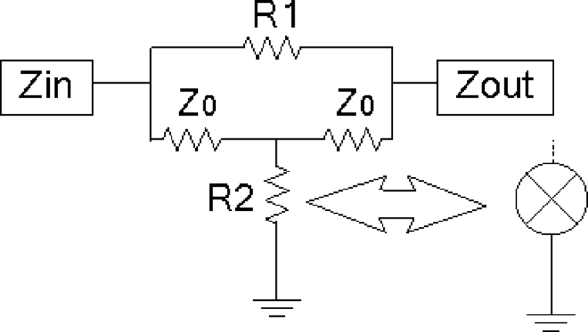 Diagram showing how a mixer is incorporated into the 6-dB