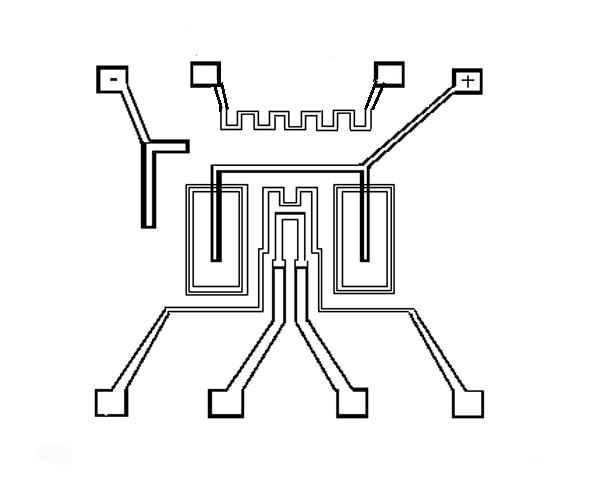 Schematic diagram of the Schottky Diode Hydrogen Sensor