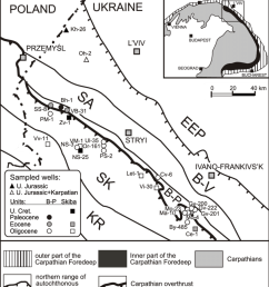 sketch geo log i cal map show ing lo ca tion of crude oil sam pling [ 850 x 965 Pixel ]