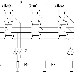 Hypothetical cross-bonding configuration applied along