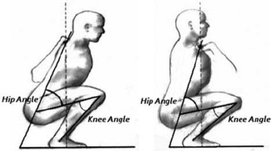 dorsiflexion in squation