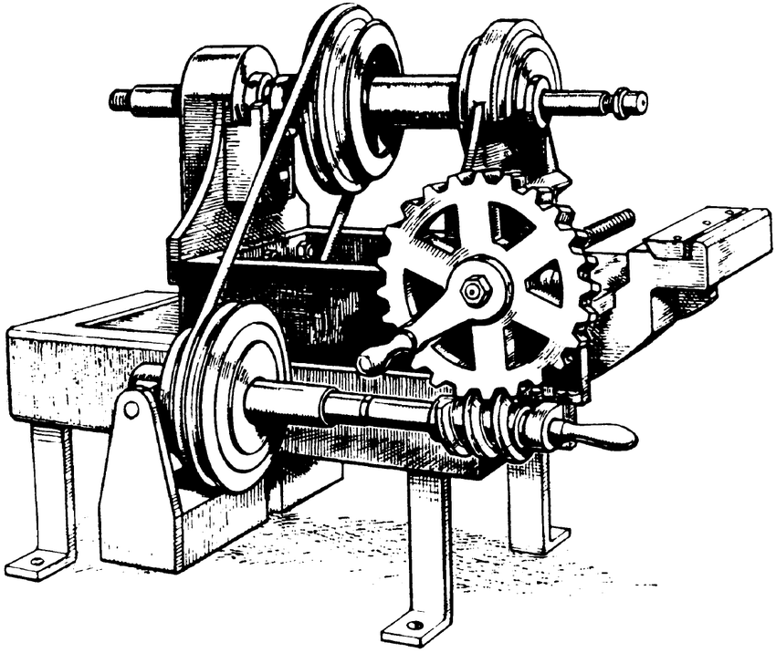 4: First milling machine, Eli Whitney, about 1820
