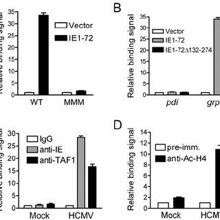 IE1-72 activates the grp78 promoter in an ERSE-dependent
