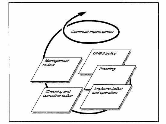 Occupational Health and Safety Management System model [6