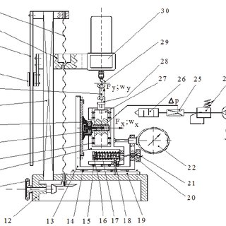 The kinematic scheme The driving toothed belt 6 and the