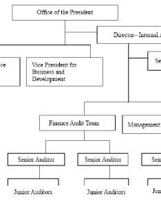 Organizational structure internal audit office of the university also rh researchgate