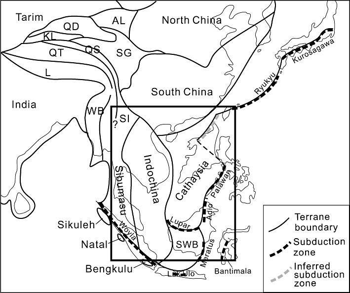 Mesozoic paleogeography and tectonic evolution of South