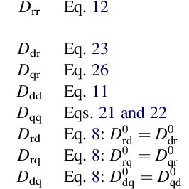 (PDF) Transport Equations and Coefficients for Active