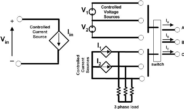 Three-phase inverter switching elements average switch