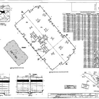 Part of building footprint with detailed apartment