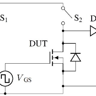 Schematic diagram of the test bench for performing power