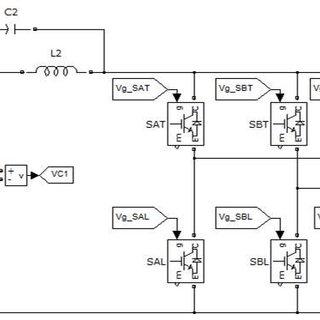 Three Phase Grid Voltage B. SIMULATION CIRCUIT FOR QUASI Z