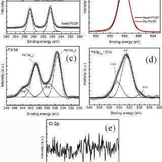 FTIR-GIRAS measured from (i) neat PVDF and (ii) Pd-NP