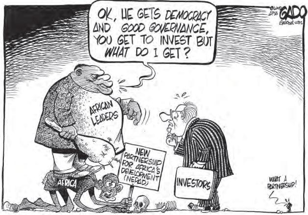 What a Partnership! Source of Cartoon: © Gado, Godfrey