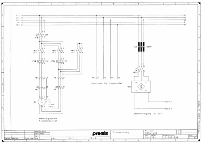 example of an electrical wiring diagram  download