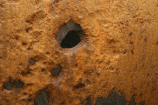 Example Of Pitting Corrosion In Cast Iron Water Mains 8