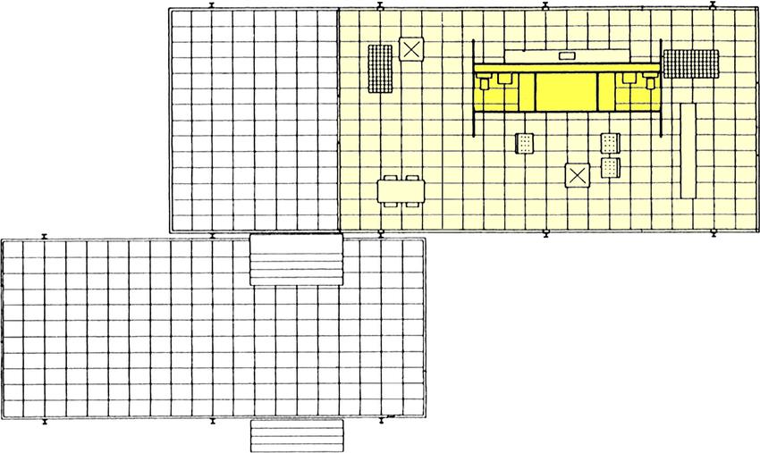 Ludwig Mies Van Der Rohe Farnsworth House Plan