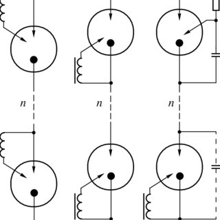 Electrical circuit of the protective device: ( PS ) power