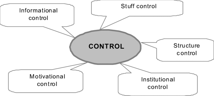 3. Types (methods) of control in organizational systems