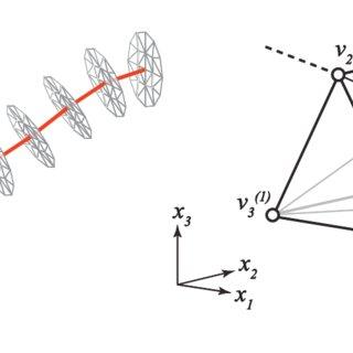 Illustration of fiber meshing procedure: (a) duplication