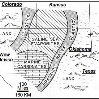 Map of the Edwards Aquifer region showing the three zones