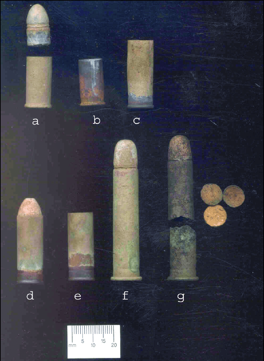 hight resolution of miscellaneous cartridges and cases a smith and wesson russian bullet and case