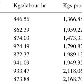 (PDF) Labour and Multi-factor Productivity Analysis and