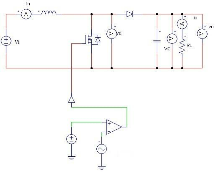 Inductor With Dc Supply