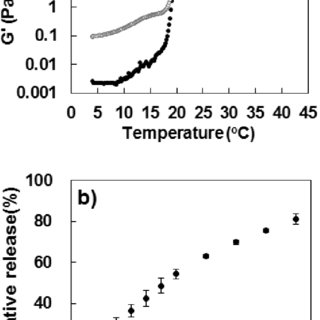 Schematic presentation of the phase transition of the