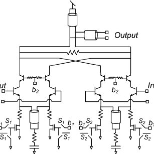 Differential cross-coupled power combiner. (a