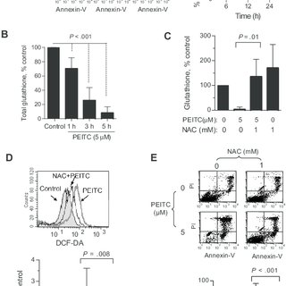 Selective killing of primary CLL cells by PEITC. (A