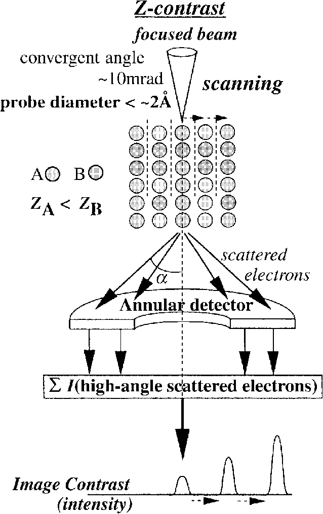 Schematic illustration showing the principle of the