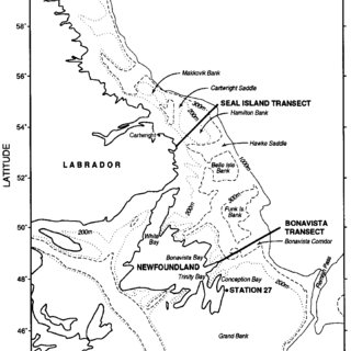 (PDF) Relating oxygen levels in the Newfoundland offshore