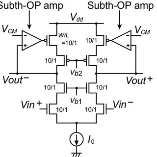 Offset cancellation for cascode differential amplifier